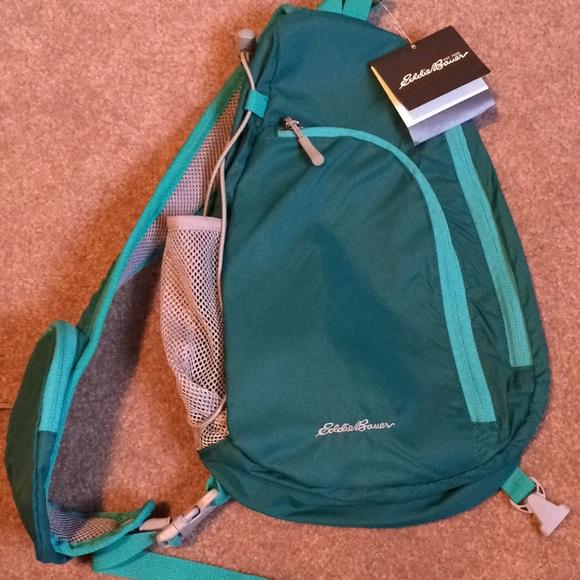 Eddie Bauer Bags Ripstop Sling Pack Poshmark